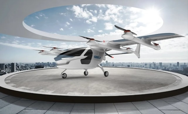 吉利飞行汽车即将问世,太力飞车揭秘TF-2A原型机