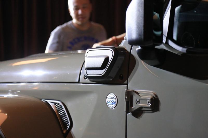搭2.0T插电混动系统 牧马人4×e正式发布